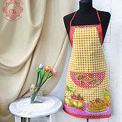 Для дома и интерьера handmade. Livemaster - original item Apron Strawberry. Handmade.