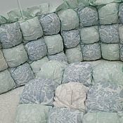 Бортики Бомбон в кроватку
