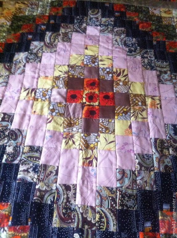 "Home Textiles & Carpets handmade. Livemaster - handmade. Buy Set ""Beautiful geometry"" (bed sheet + 2 pillow cases)."