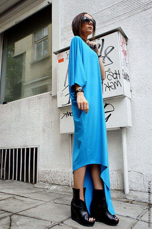 Платья ручной работы. Ярмарка Мастеров - ручная работа. Купить Платье Stranger. Handmade. Красивое платье, туника, платье в пол