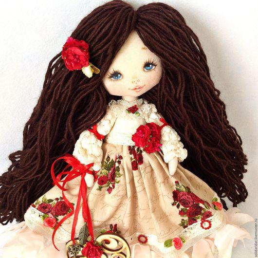 Ароматизированные куклы ручной работы. Ярмарка Мастеров - ручная работа. Купить Письма о любви. Handmade. Коллекционная кукла, винтаж