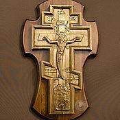 Русский стиль ручной работы. Ярмарка Мастеров - ручная работа Крест нывосной. Handmade.