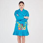 Одежда handmade. Livemaster - original item Embroidered skirt with belt and women`s jacket. Handmade.