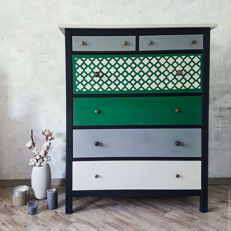 комод, перекраска мебели, авторская перекраска, декорирование мебели, декор мебели, покраска мебели