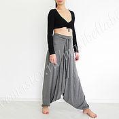 Одежда handmade. Livemaster - original item pants. Wide-leg pants. pants.