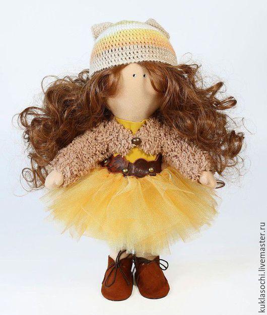 Куклы тыквоголовки ручной работы. Ярмарка Мастеров - ручная работа. Купить Текстильная кукла. Handmade. Комбинированный, хлопок