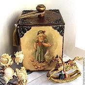 Для дома и интерьера handmade. Livemaster - original item Box childcare. Handmade.