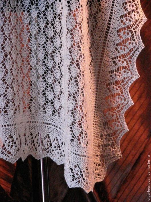 """Шали, палантины ручной работы. Ярмарка Мастеров - ручная работа. Купить одеяльце для младенца """"шетланд"""". Handmade. Белый, одеяло детское"""