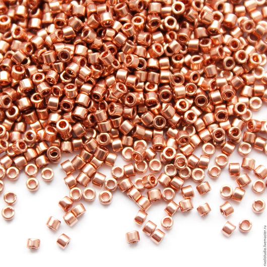Для украшений ручной работы. Ярмарка Мастеров - ручная работа. Купить Delica 11/0 MIYUKI Copper plated DB 40 бисер Миюки Делика. Handmade.