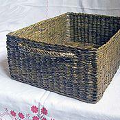 Для дома и интерьера ручной работы. Ярмарка Мастеров - ручная работа Плетеный короб. Handmade.