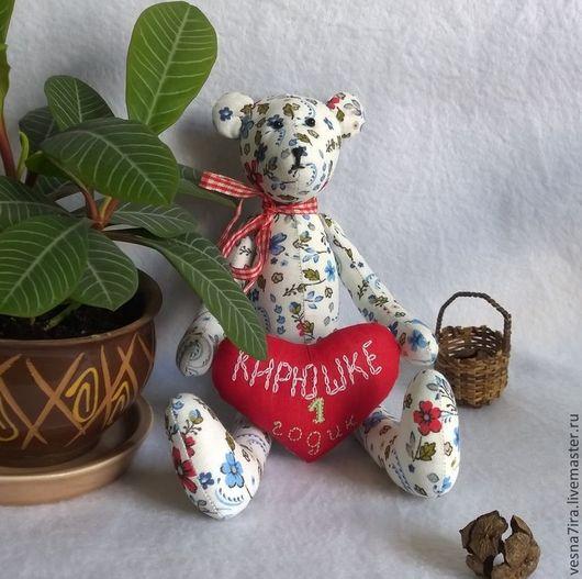 """Куклы и игрушки ручной работы. Ярмарка Мастеров - ручная работа. Купить Набор для шитья куклы """" Мишка -тильда"""". Handmade."""