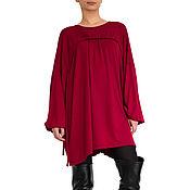 Одежда handmade. Livemaster - original item Dress. Tunic dress. A woman`s dress.Top.