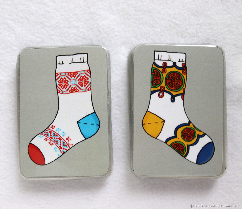 Большая стирка. Носки. Старая версия. Карточки, Карточные игры, Саратов,  Фото №1