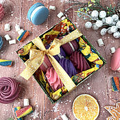 Косметика ручной работы handmade. Livemaster - original item Marshmallow and Macaroni Soap Set. Handmade.