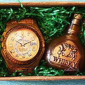 handmade. Livemaster - original item Luxury Handmade Soap Set Gift for Men Whiskey. Handmade.