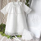 Работы для детей, handmade. Livemaster - original item baptismal set