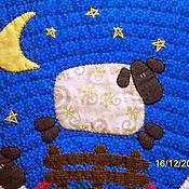 """Для дома и интерьера ручной работы. Ярмарка Мастеров - ручная работа Подушка декоративная """"Посчитай овечек"""". Handmade."""