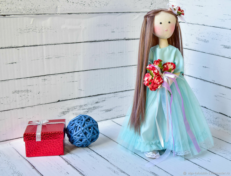 Текстильная кукла Армель, Куклы и пупсы, Москва,  Фото №1