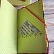 Блокнот  Что сегодня на обед?  Блокнот ручной работы  На заднем форзаце есть кармашек для записочек Анастасия    (Decor-art)