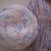 Аксессуары ручной работы. Ярмарка Мастеров - ручная работа Комплект шарф и берет. Handmade.