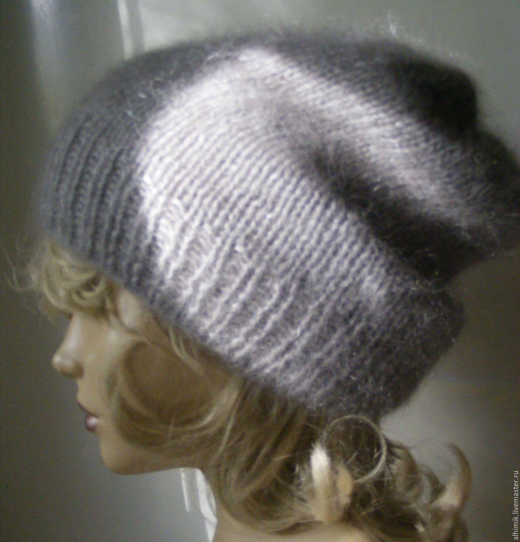 Вязание шапок из ангоры 51