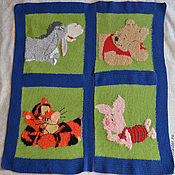 Для дома и интерьера handmade. Livemaster - original item children`s blanket