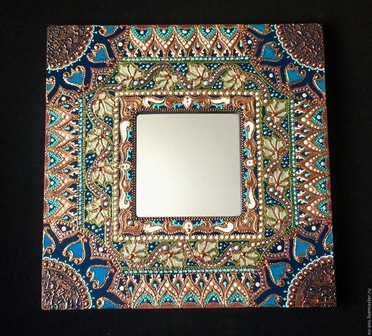 Зеркала ручной работы. Ярмарка Мастеров - ручная работа. Купить Зеркало интерьерное Alexandria. Handmade. Восточный стиль, зеркало настенное