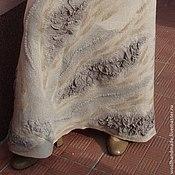 Одежда ручной работы. Ярмарка Мастеров - ручная работа Юбка из шерсти  Песок. Handmade.