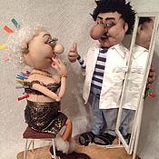 Куклы и игрушки ручной работы. Ярмарка Мастеров - ручная работа На приеме у пластического хирурга.. Handmade.