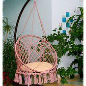 Для дома и интерьера ручной работы. Ярмарка Мастеров - ручная работа Подвесное кресло качель. Handmade.