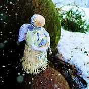Куклы и игрушки ручной работы. Ярмарка Мастеров - ручная работа обережная куколка Ангел.оберег.подарок на Пасху. Handmade.