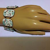 Винтаж handmade. Livemaster - original item Bracelet ENAMEL L. YU. M. LENINGRAD, ,1961, RARE ANTIQUES.. Handmade.