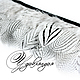 Другие виды рукоделия ручной работы. Ярмарка Мастеров - ручная работа. Купить Перо серебристого фазана на ленте, натуральное, неокрашенное №136. Handmade.