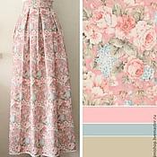 Одежда ручной работы. Ярмарка Мастеров - ручная работа Юбка нежно-розовая. Handmade.