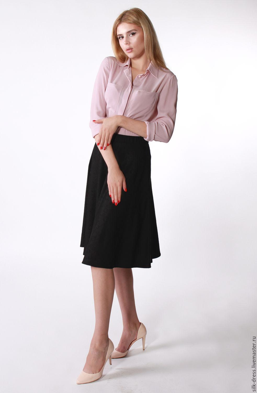 Jacquard skirt black, Skirts, Moscow,  Фото №1