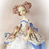 Куклы и игрушки ручной работы. Ярмарка Мастеров - ручная работа Габриэла. Будуарная кукла. Handmade.