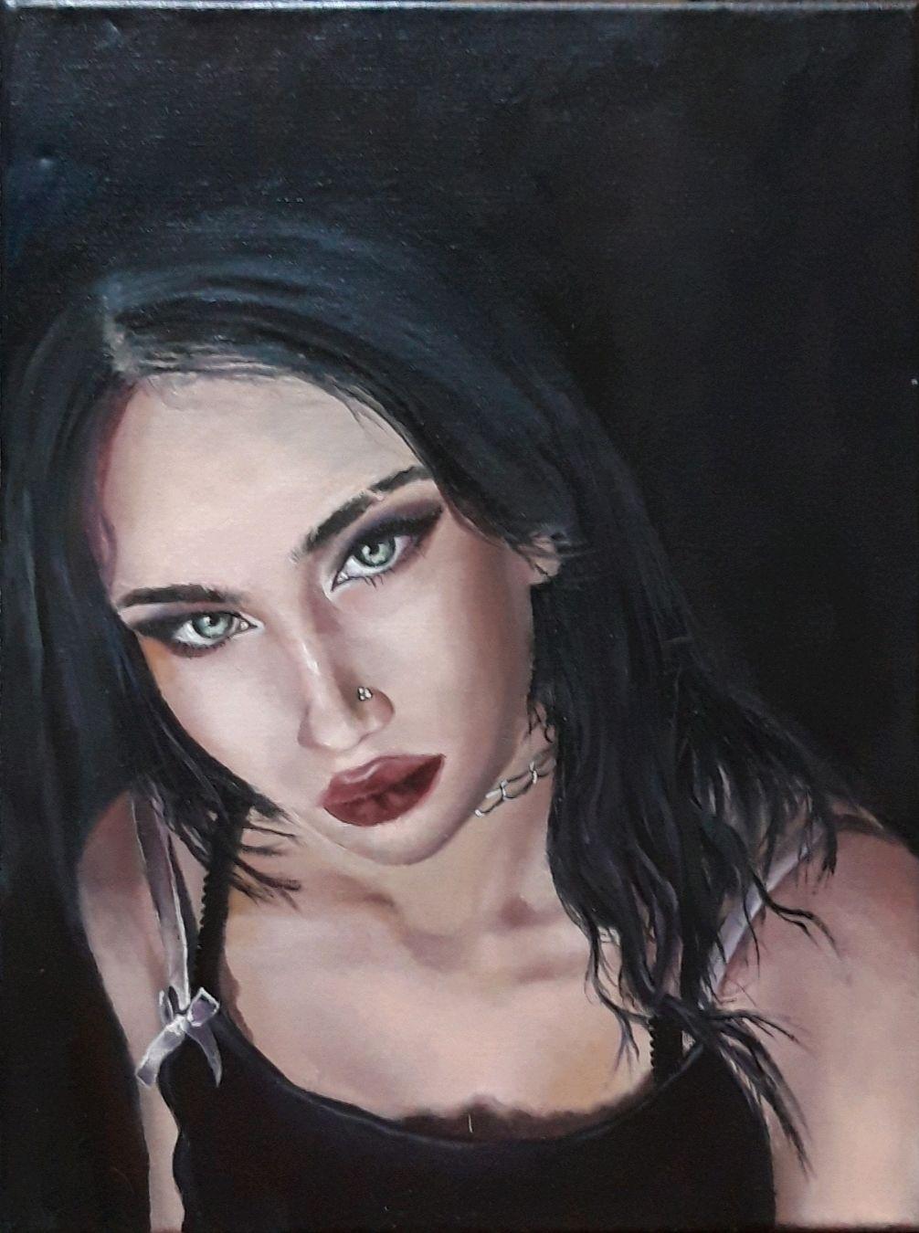 Портрет любимой дочери, Картины, Анапа,  Фото №1