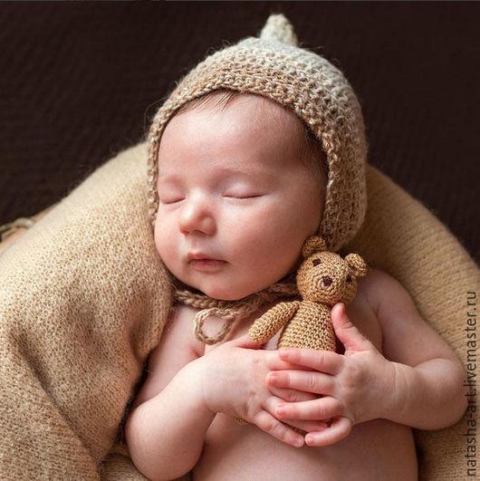 Для новорожденных, ручной работы. Ярмарка Мастеров - ручная работа. Купить Светлая пряжа Noro для фотосессий новорожденных. Handmade. Белый