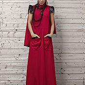 Одежда ручной работы. Ярмарка Мастеров - ручная работа Платье макси, платье в пол. Handmade.