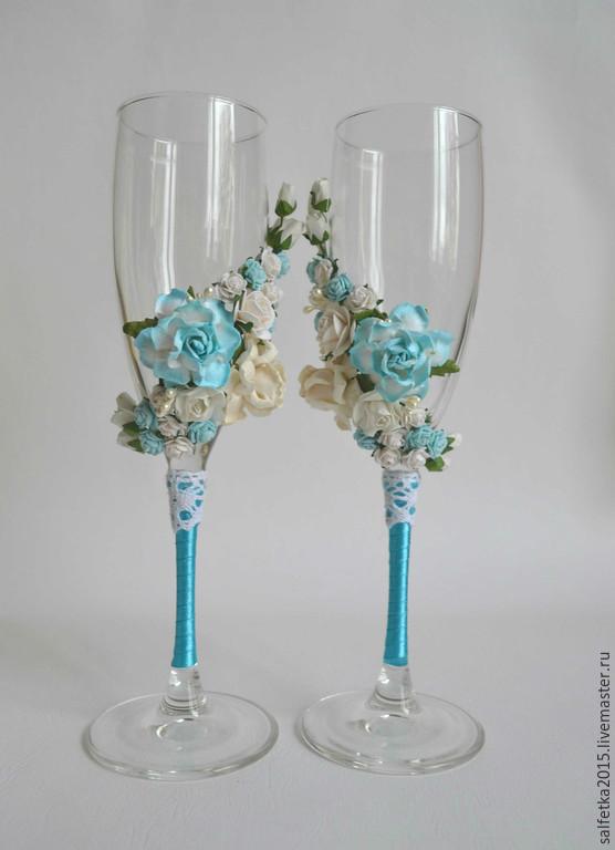 Свадьбы в голубом стиле 95