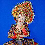 Куклы и игрушки ручной работы. Ярмарка Мастеров - ручная работа Аленушка (хохлома). Handmade.
