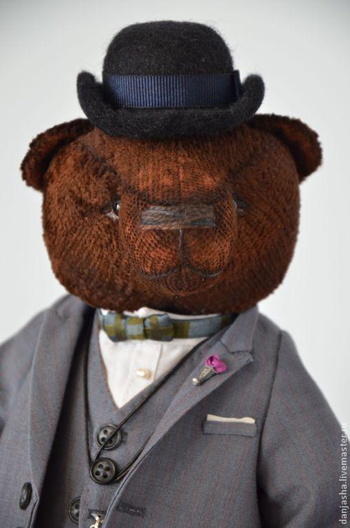 Мишки Тедди ручной работы. Ярмарка Мастеров - ручная работа. Купить Эркюль П.. Handmade. Коричневый, англия