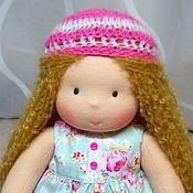 Куклы и игрушки ручной работы. Ярмарка Мастеров - ручная работа Наденька, вальдорфская кукла. Handmade.