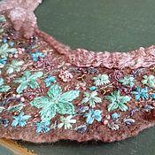 Necklace handmade. Livemaster - original item Embroidered necklace