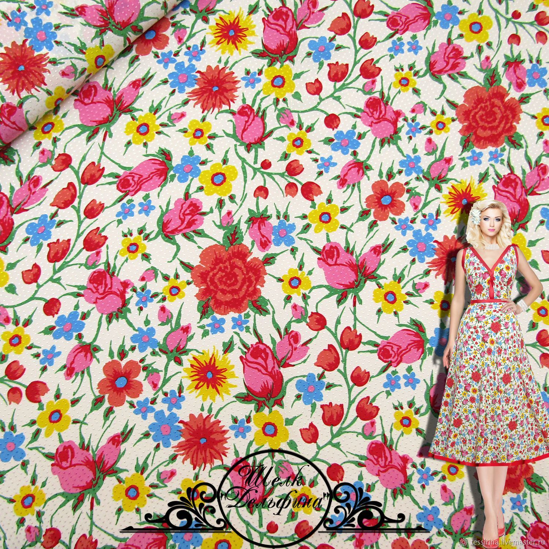 "Шелк-жаккард Alberta Ferretti ""Дельфина"" итальянские ткани, Fabric, Sochi,  Фото №1"
