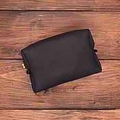 Сумки и аксессуары handmade. Livemaster - original item Cosmetic bag made of genuine leather Sofia. Handmade.