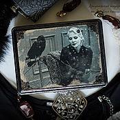 Для дома и интерьера handmade. Livemaster - original item Box for the jewelry. A woman who likes compose stories.. Handmade.