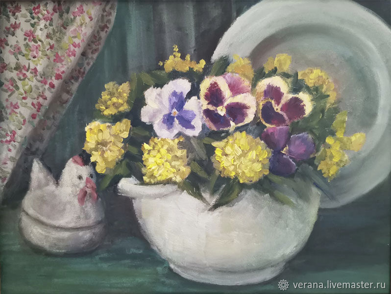 Oil painting. rustic motif. Still life, Pictures, Zhukovsky,  Фото №1