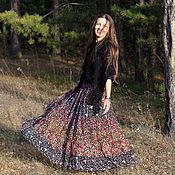 Одежда ручной работы. Ярмарка Мастеров - ручная работа юбка ЦВЕТАСТАЯ радость. Handmade.