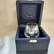 Сувениры и подарки handmade. Livemaster - original item gift boxes: Box for cognac glass. Handmade.